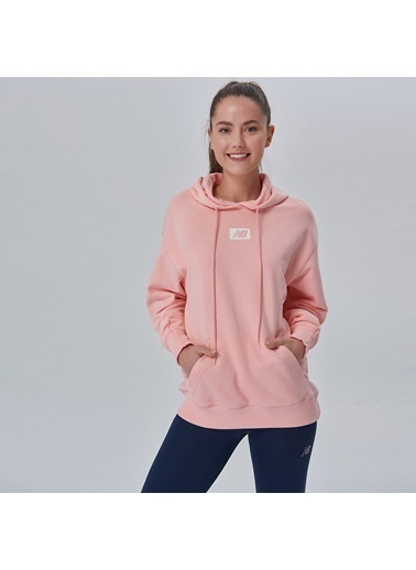 New Balance Sweatshirt Pembe